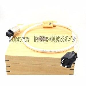 Image 2 - 1.5m DIN 2 Supreme Reference przewód zasilający UK kabel z 20A IEC wtyczka zasilania kabel HIFI moc dźwięku