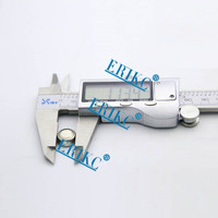 ERIKC 150mm 6 inch electronic digital vernier caliper least count 0.01mm or 0.0005 inch price electronic carbon fiber digital