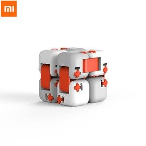 Image 2 - Mới Xiaomi Mitu Cube Spinner Ngón Tay Gạch Trí Thông Minh Đồ Chơi Thông Minh Ngón Tay Đồ Chơi Di Động Cho Xiaomi nhà thông minh Tặng cho Bé