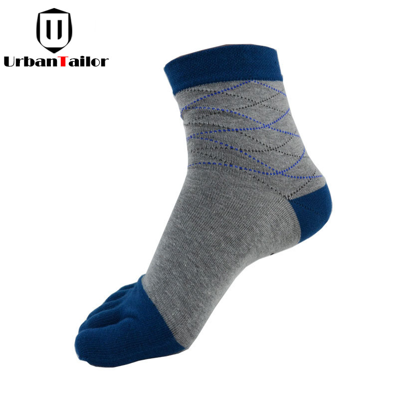 Brand Men Five Toe Socks Male Casual Combed Cotton Funny Socks Buisiness Socks High Qual ...