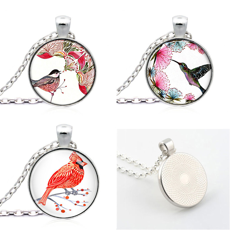 Glasses Long Sweater Chain Necklace  For Women And Girl Pendants A Nice Gift