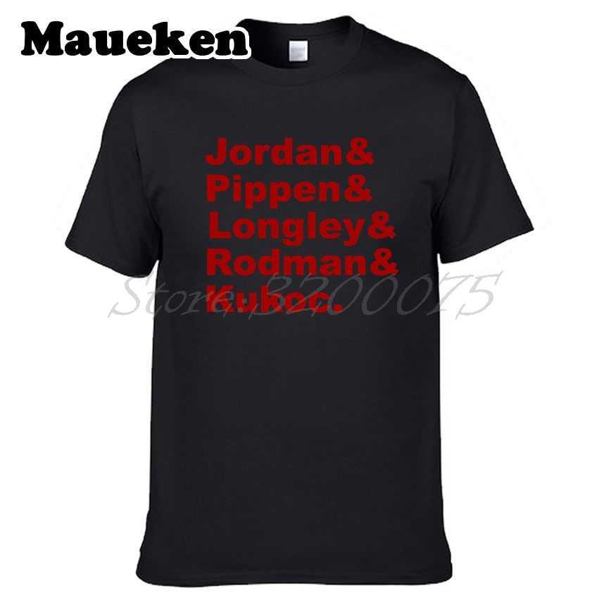 af504257995 Men Dynasty Team bulls Classic Michael Jordan Pippen Rodman Kukoc Bred 1  Supreme chicago T-