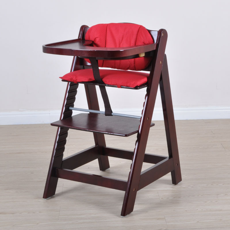 Multifunctional baby child solid wood dining chair baby dining chair solid wood baby chair dining room chair contracted europe type solid wood dining chair the pu chair chair korean meal