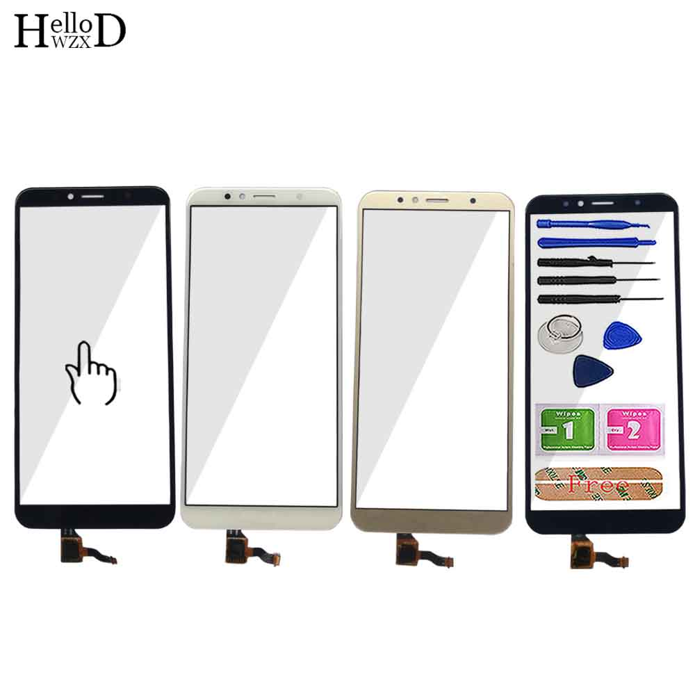 Touch-Screen-Sensor Digitizer Honor Mobile Front-Glass-Panel Huawei for Honor/7a/Pro/Aum-l29
