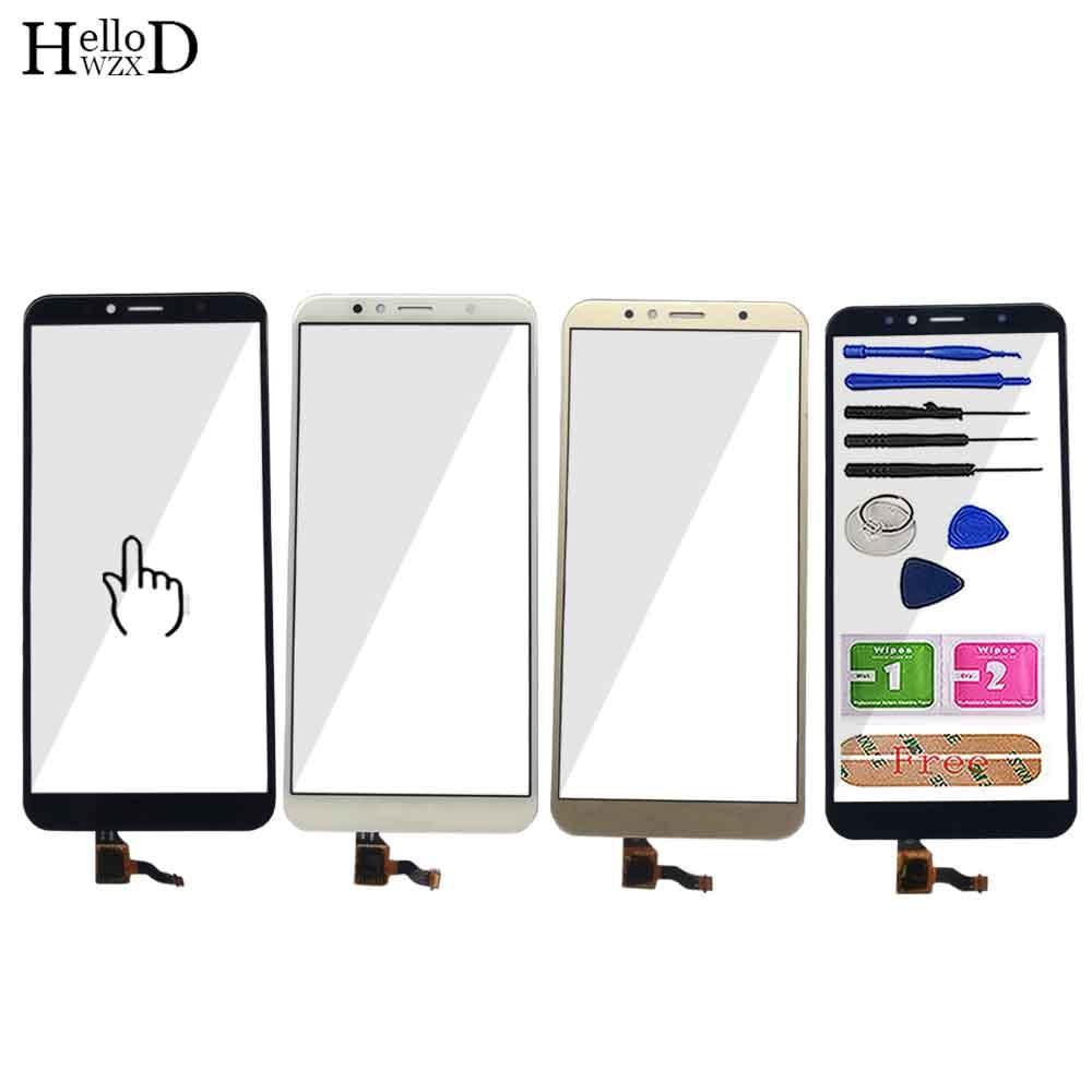 Мобильный сенсорный экран 5,7 дюйма для Huawei Honor 7A Pro AUM-L29, сенсорный экран с цифровым преобразователем, передняя стеклянная панель