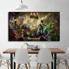 World Of Warcrafts Illidan Heroes The Storm HD Canvas Painting Print Bedroom Home Decor Modern Wall Art Oil Poster