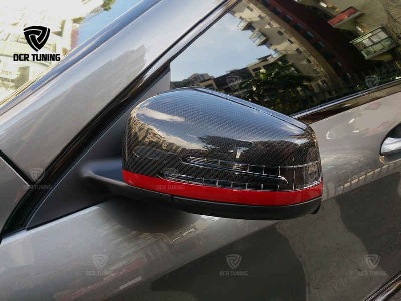 Mercedes Carbon Mirror W204 W207 W212 W176 W218 W221 Mercedes A C CLS E CLA Class Carbon Mirror Cover