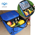 35l alta-dobrar a capacidade de manutenção fresco saco térmico camada de isolamento ice pack mala do carro à prova d' água multi-purpose sacos de piquenique