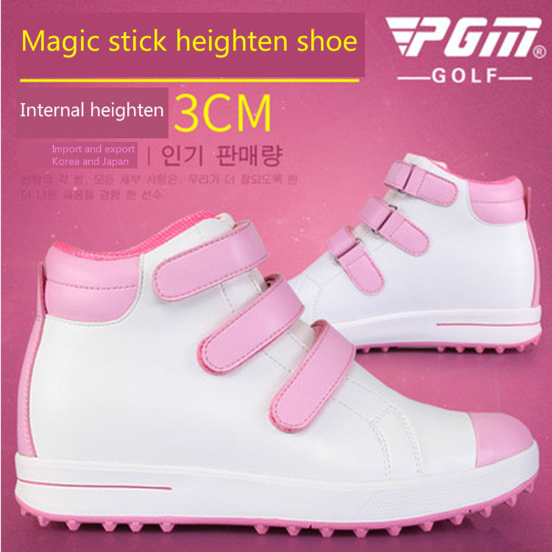 Golf shoes for women  ladies magic stickers shoelaces  high shoes  waterproof sports shoesGolf shoes for women  ladies magic stickers shoelaces  high shoes  waterproof sports shoes