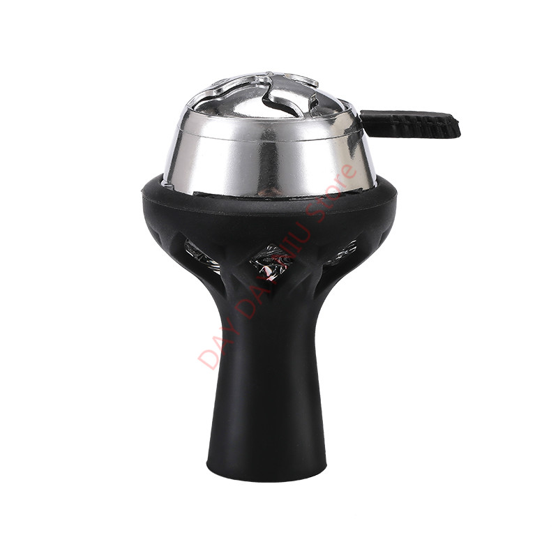 1 piezas vidrio de silicona shisha hookah bowl y 1 piezas helado titular de carbón manejan Kaloud narguile Sheesha Vortex Hookah accesorio