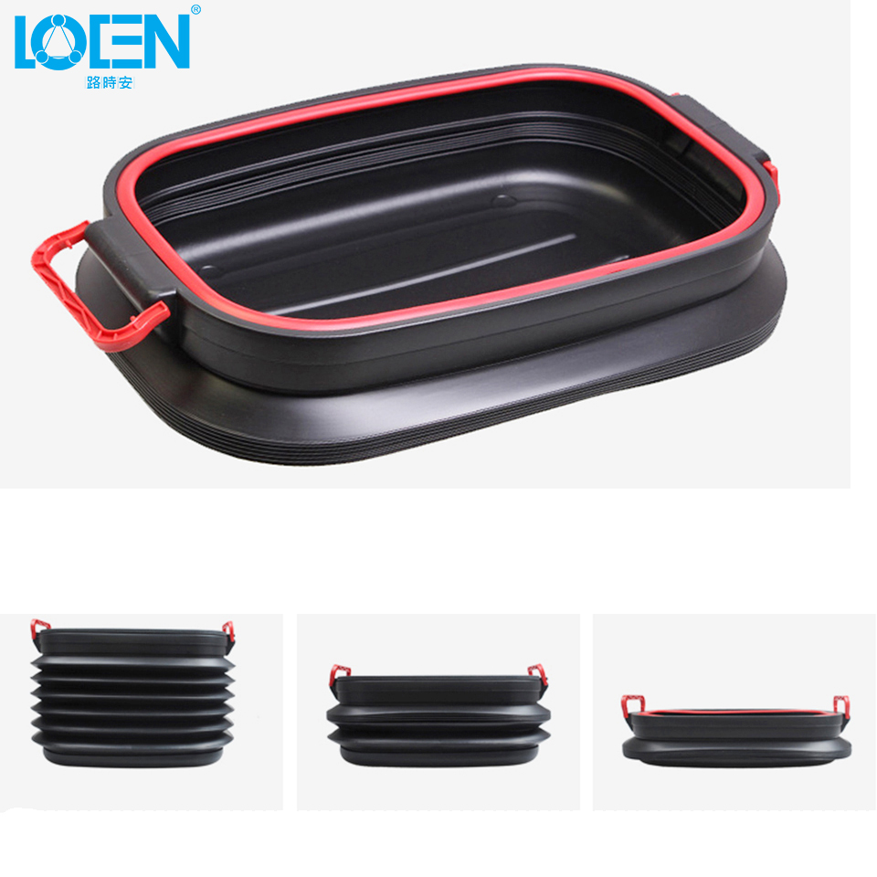 1PC Expanison and Folding Universal car 37L cover storage box office ...