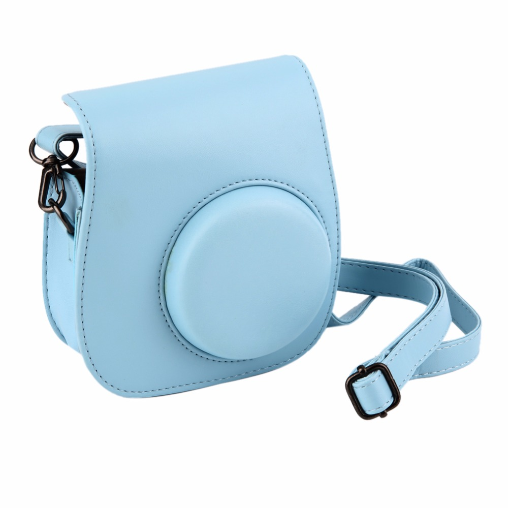 Leather Camera Strap Bag Case Cover Pouch Protector For Polaroid Photo