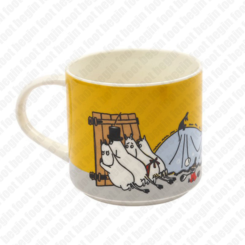 US $12 59 37% OFF|Finland Moomin Mumin Family Ceramics Mug Capacity Concise  Coffee Milk Water Beer Lovely Drinking Juice Tea Muumi Cup Travel Gift-in