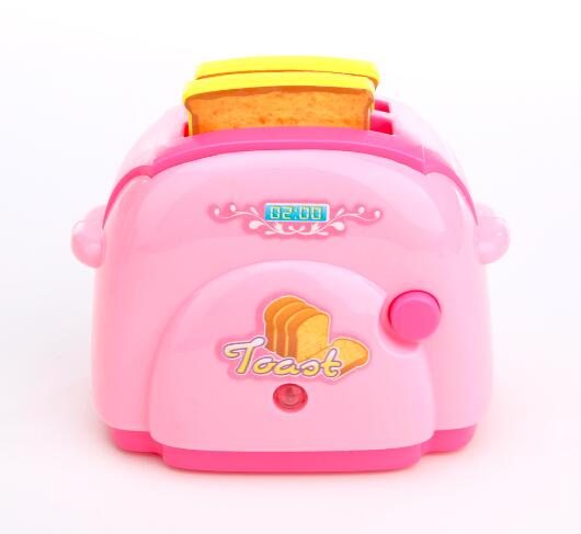 Mini Toaster Classic Toys Pretend Play Toys Home Application Furniture Toy Kitchen for Baby Girls Boys