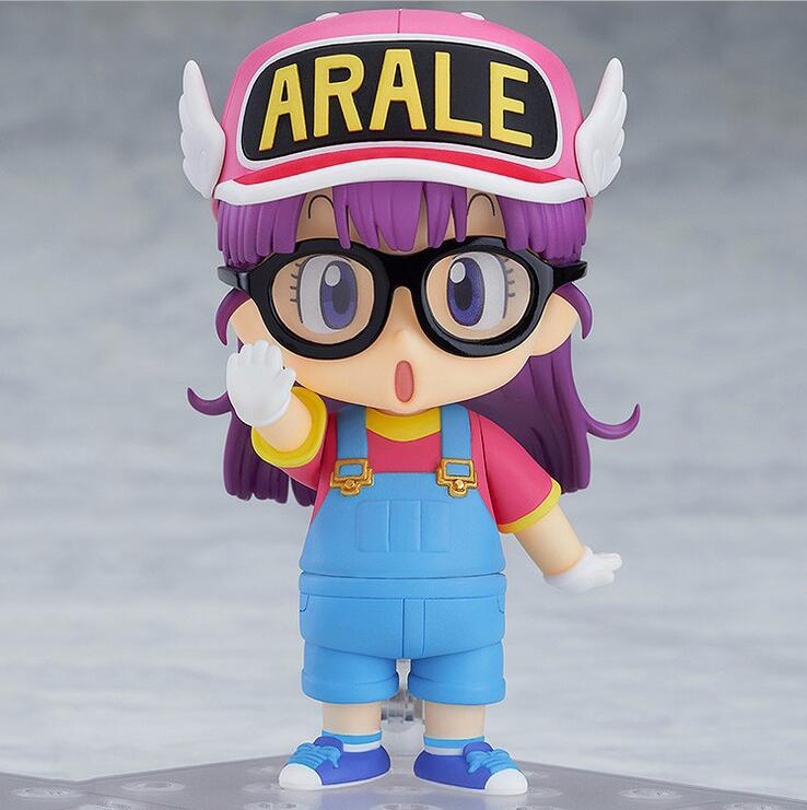 NEW hot 10cm Arale Action figure toys doll Christmas gift with boxNEW hot 10cm Arale Action figure toys doll Christmas gift with box