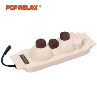 POP RELAX Tourmaline Health Products Prostate Massager For Men Pain Relief 3 Balls Germanium Stone Far Infrared Therapy Heater