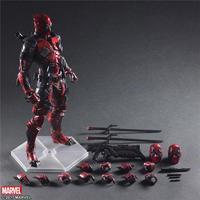 Play Arts Marvel Super Hero Deadpool Action Figure PA Toys 10 25cm