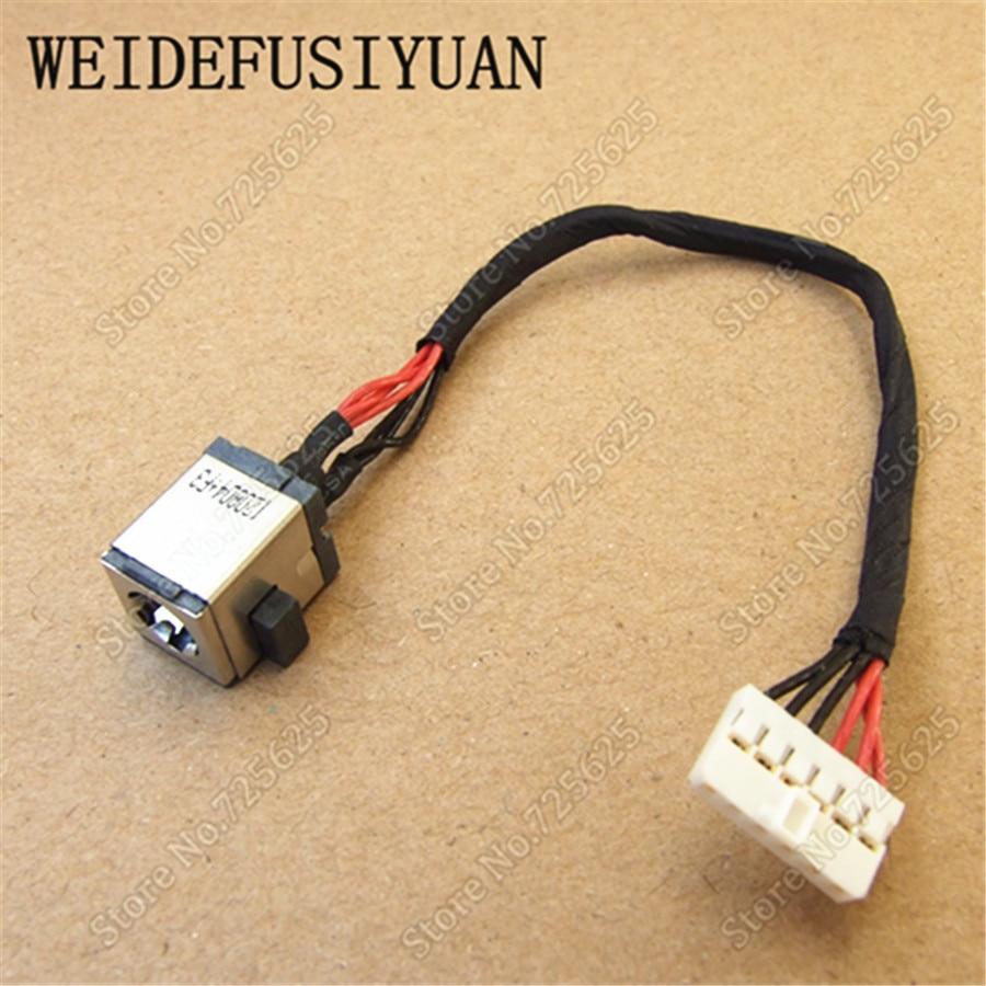 Conector de Carga Asus K55A K55VJ Power Jack