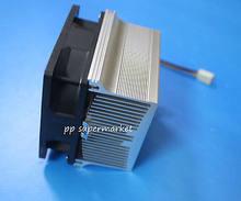 Placa de aluminio con ventilador de 12V para led de alta potencia, disipador de calor de aluminio, ventilador de refrigeración para led de 50w, 100w, 150w y 200w