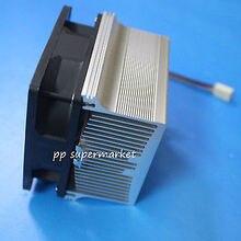 Placa de aluminio con ventilador de 12V para led de alta potencia diy, ventilador de enfriamiento de disipador de calor de aluminio para 50w 100w 150w 200w led