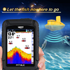 Lucky Brand Fish Finder Wireless Portable 45M 147Feet Sonar Depth Waterproof Fishfinder Ocean River Lake Carp