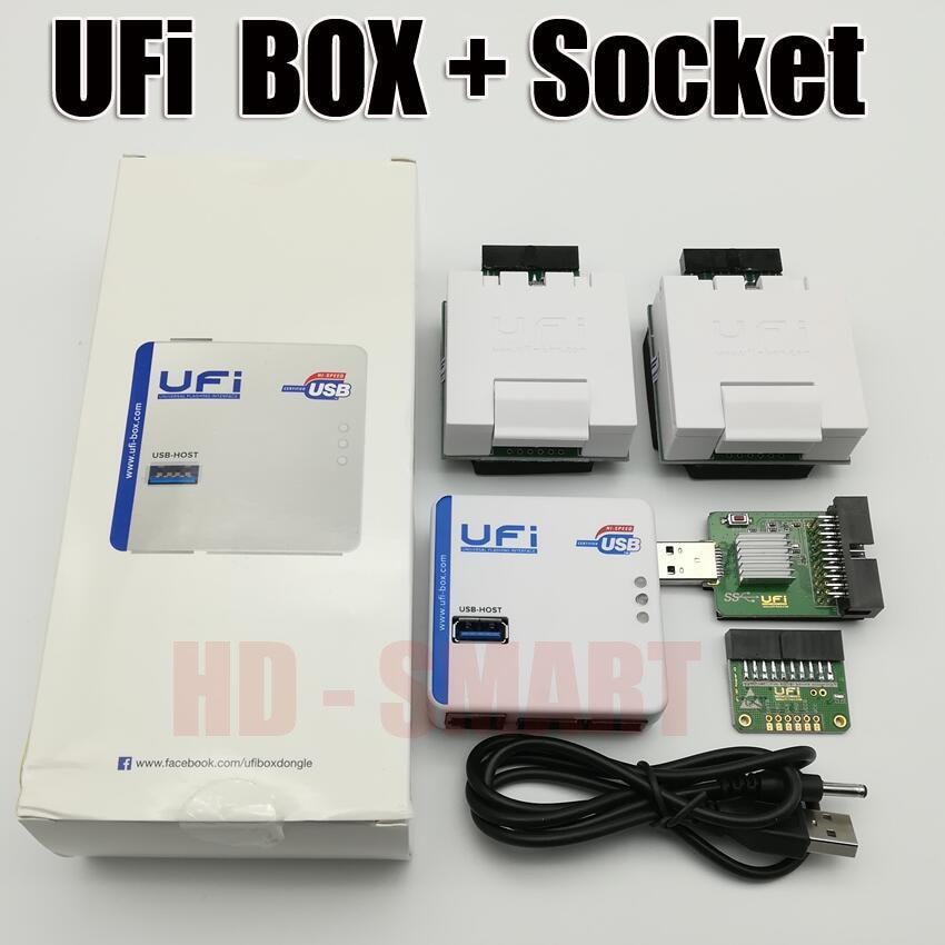 2018 nuevo original UFI alimentación Ufi caja ful EMMC servicio herramienta leer EMMC los datos del usuario, así como la reparación, cambio de tamaño, formato