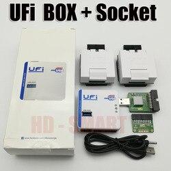 2019 original nuevo UFI caja de la Asociación de ful EMMC herramienta de servicio leer EMMC de usuario los datos así como reparación, retamaño, formato,