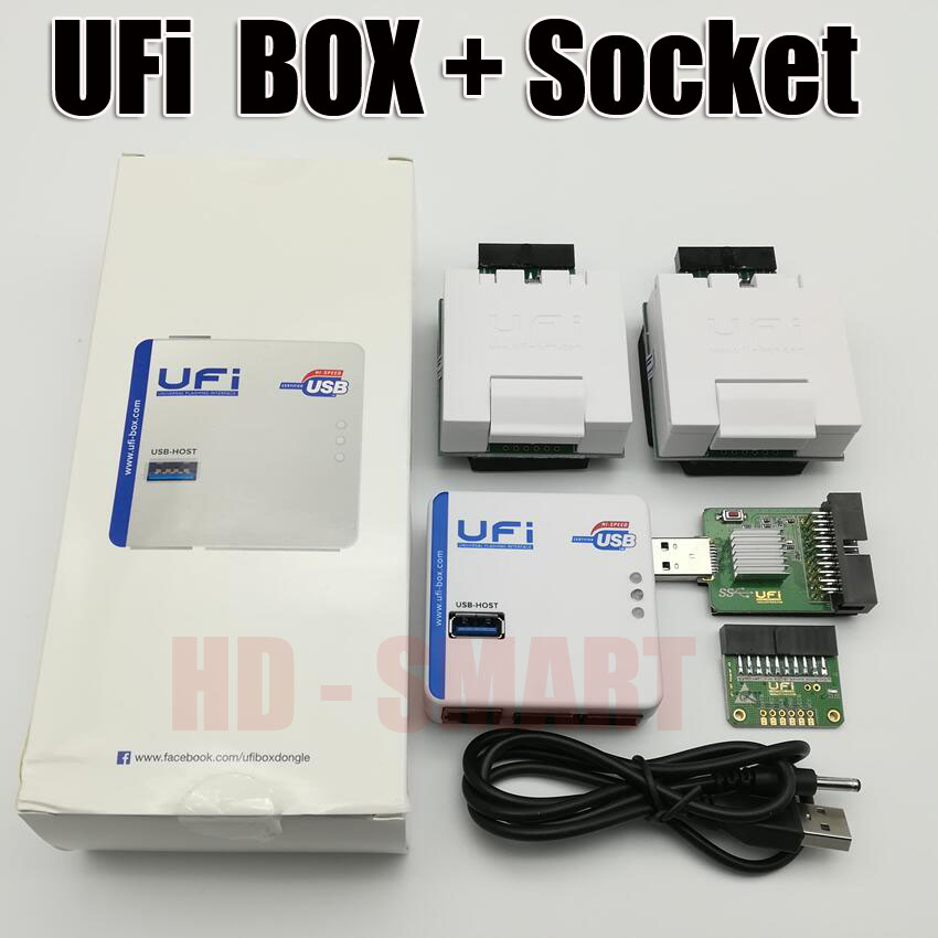 2020  News  Original UFI Box Power  Ufi Box Ful EMMC Service Tool  Read EMMC User Data, As Well As Repair, Resize, Format,