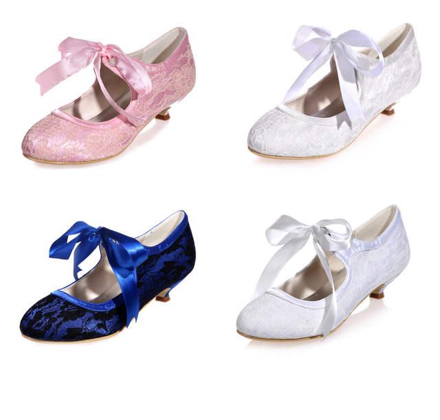 Creativesugar Comfortable ribbon lace up mary jane vintage style kitten  heel lace evening dress shoes bridal 0bdb20cd7eca