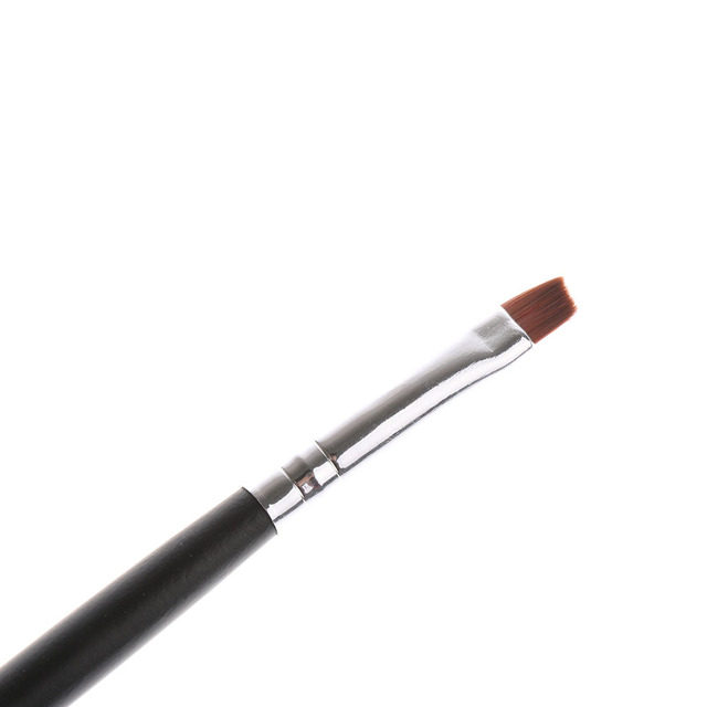 2017 1PC Professional Oblique Design Eyebrow Brush Cosmetic Brow Brush New Sale Beauty Tool Makeup Brushes