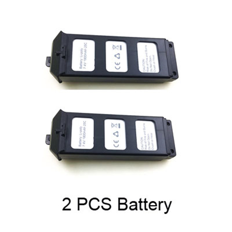 7.4V 1800Mah Li-po Battery For MJX B5W Bugs 5W RC Quadcopter Drone Spare parts Accessories MJX B5W Battery B5W012 mjx x800 lipo battery 3 7v 750mah jst plug batteries 6pcs with usb charger and cable for mjx x400 x300c rc drone parts