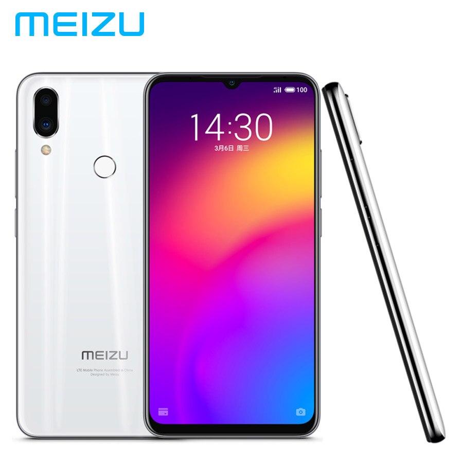 Téléphone portable d'origine MEIZU Note 9 LTE 4G 48MP + 5MP 6 GB 64 GB Snapdragon 675 Octa Core 6.2 pouces 1080x2244 p 4000 mAh batterie double SIM