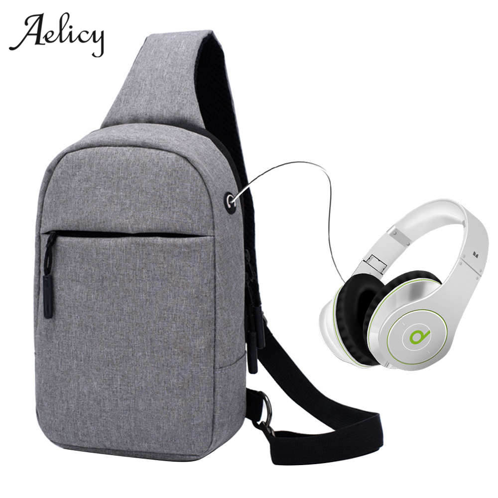 Aelicy Waterproof Man Casual Messenger Bag Fashion Mini Women Shoulder Bag Travel Chest Pack Bag Crossbody Sling Bag For Ipad travel casual sling messenger chest bag high quality men canvas bag pack canvas crossbody sling bag for ipad