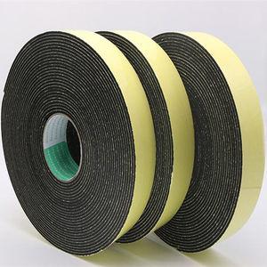Image 3 - Strong adhesion  EVA black sponge foam  rubber tape  anti collision seal strip 1, 2, 3mm thick
