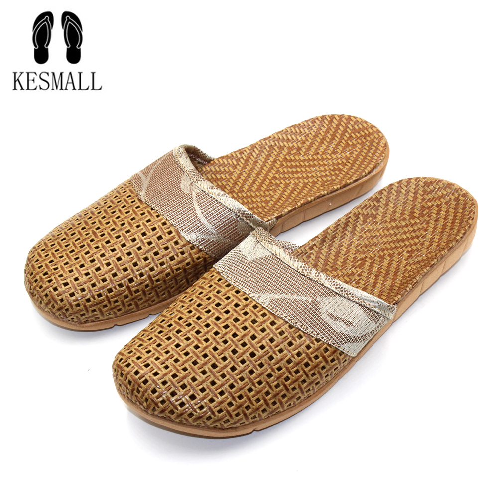 Hot New Summer Men Flax Flip Flop Canvas Linen Non-Slip Designer Flat Sandals Home Slippers Man Fashion Slides Casual Shoe S204 coolsa new summer linen women slippers fabric eva flat non slip slides linen sandals home slipper lovers casual straw beach shoe page 4
