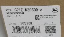 P1E N30SDR A Plc Programming controller module