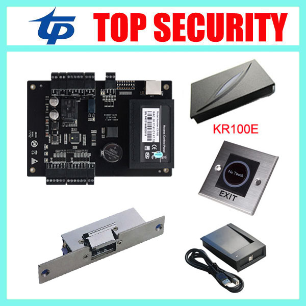 One door C3-100 access control panel C3/100 access control door control system with TCP/IP communication free software and SDK