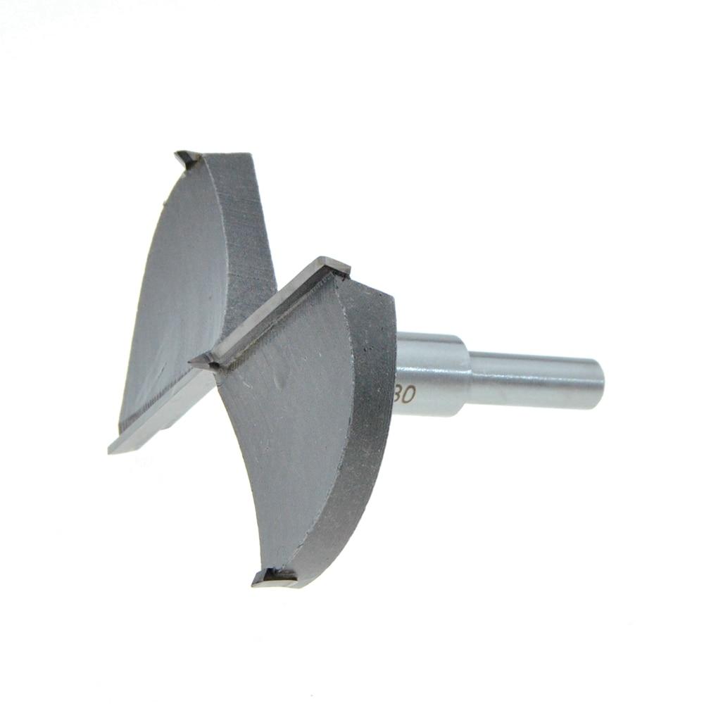 цена на 80mm / 3 .15 Cutting Diameter Hinge Boring Drill Bit Woodworking Hole Saw Wood Cutter Silver Tone