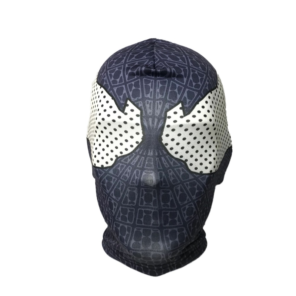 The Amazing Spider Man Black Mask Peter Parker Venom Costume Black Helmet Halloween Role Play Spider-Man Helmet