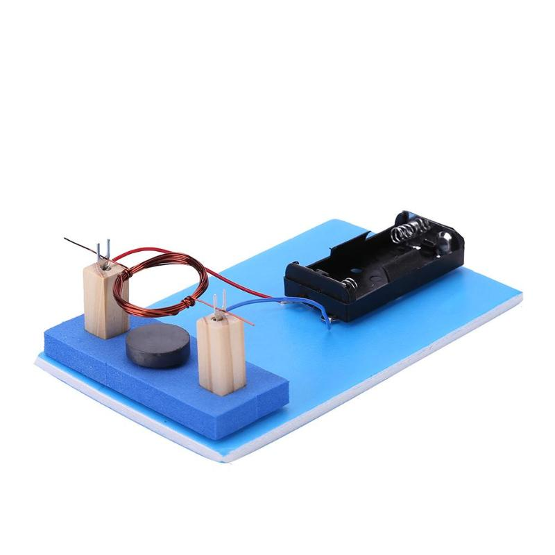 Kids Model Building Kits DIY DC Electric Motor For Children Educational School Science Learning Technology Child Educative Toys