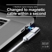 BASEUS Марка для MacBook оригинальный кабель для зарядки изменен на Магнитная Тип-C локоть адаптер конвертер
