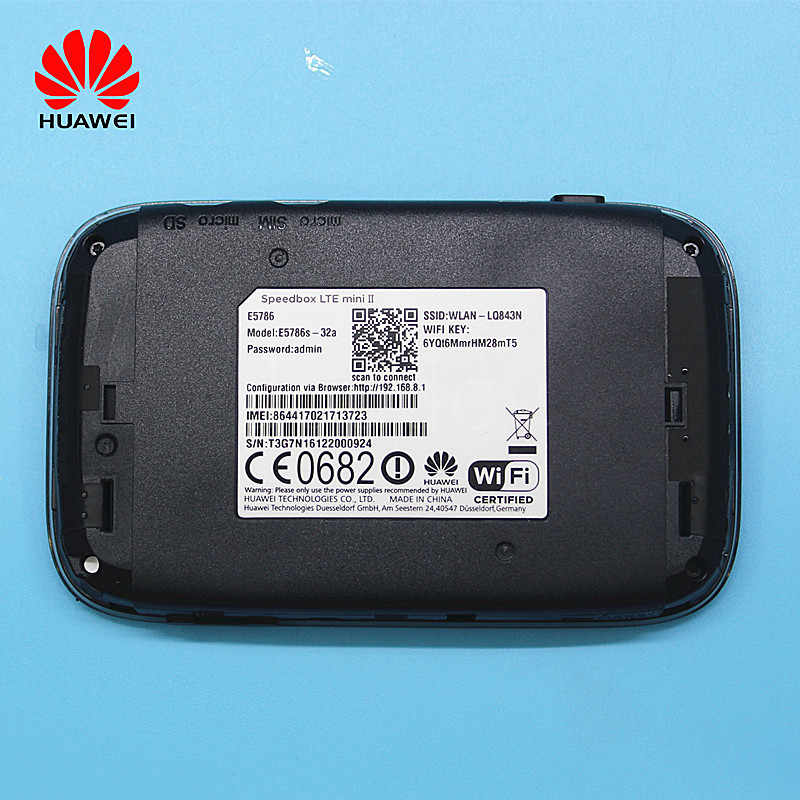 Unlocked New HUAWEI E5577 with Antenna 4G LTE Cat4 E5577Cs-321 E5776 E5786  Mobile Hotspot Wireless WIFI Router Pocket mifi
