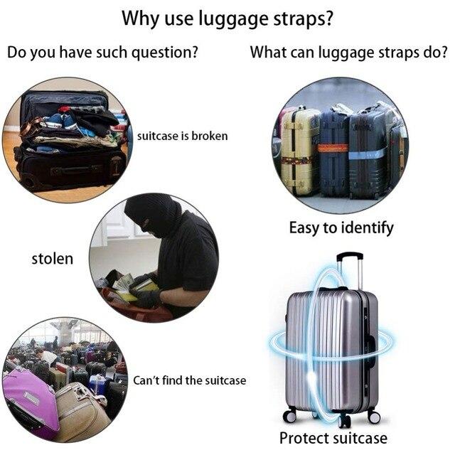 Verstelbare Koffer Riem (Extra Sterk) 3
