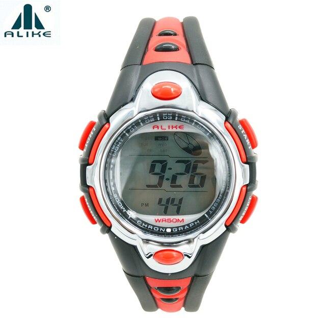 9e502f2e3931 Tanto Niños Niñas Deportes Niños Reloj Digital LED de Alarma Cronómetro  Digital Impermeable Reloj de Natación