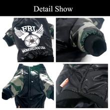 Super cool, warm & comfy FBI camo jacket / hoodie for chihuahua