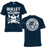 New Bullet Club Japan Pro Wrestling Puroresu T Shirt Men Njpw Black T Shirt Men Fitness