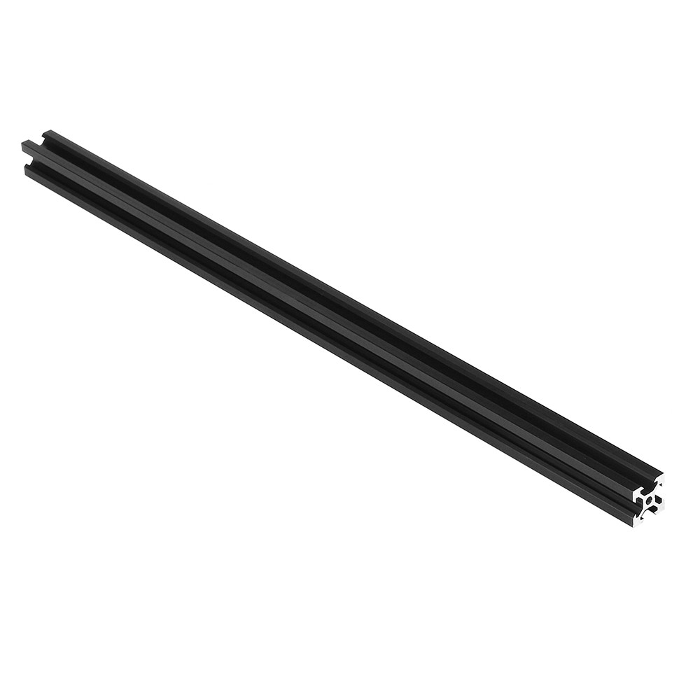 100-<font><b>1000mm</b></font> <font><b>2020</b></font> V-Slot Black Aluminum <font><b>Profile</b></font> Extrusion Frame for CNC Laser Engraving Machine 3D Printer Camera Slider image