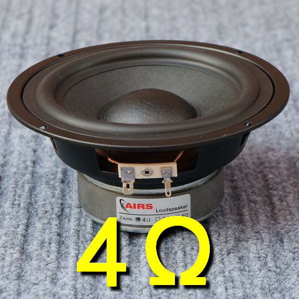 """NEW 2 Replacement Pair.8ohm.5inch 5/"""" Die cast Extended Range Woofer Speakers"""