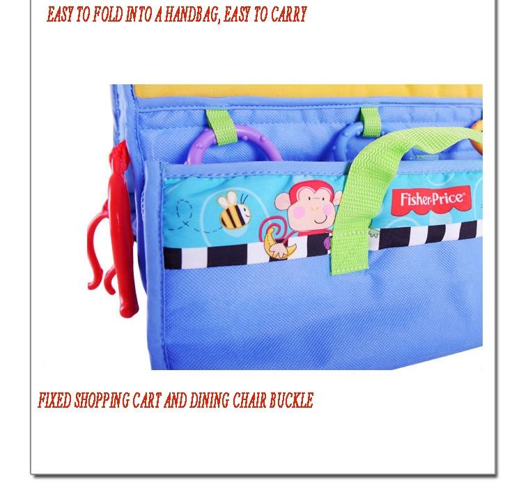 2 в 1 детская корзина гамак тележка для обеденного стула защиты антибактериальные безопасности дорожная подкладка Защитная крышка для детей