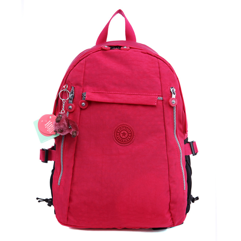 fashion waterproof nylon brand backpack for ladies and used as school backpack for university(K1275)